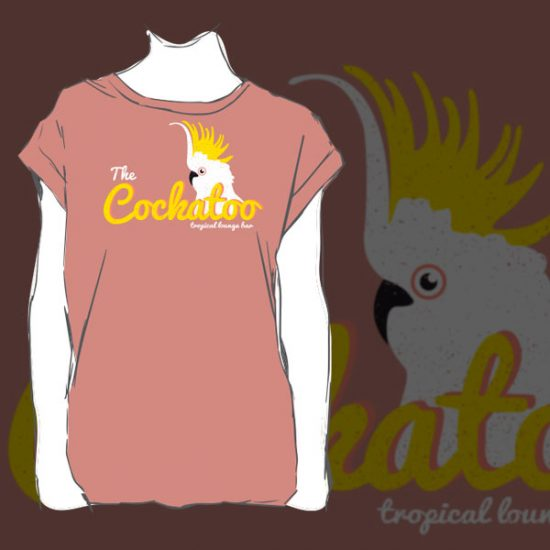 cockatoo tshirt design