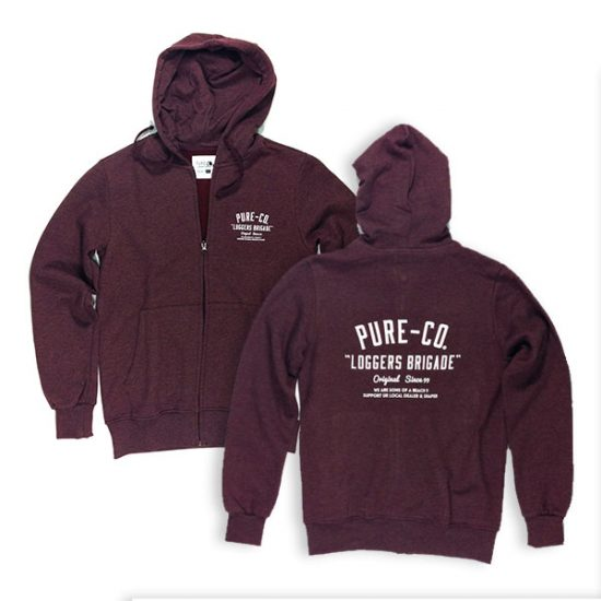 Pure Surfing Co. Loggers hoodie