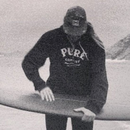 Pure Surfing Co. hoodie